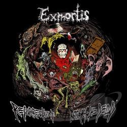 Exmortis - Resurrection: Book Of The Dead CD Cover Art