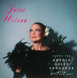 Wilson, Julie - Sings The Harold Arlen Songbook CD Cover Art