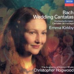 Bach, Johann Sebastian - J.S. Bach: Wedding Cantatas CD Cover Art