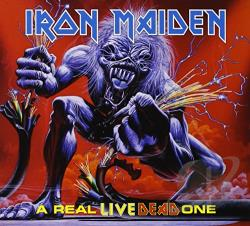 Iron Maiden - Real Live Dead One CD Cover Art