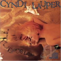 Lauper, Cyndi - True Colors CD Cover Art