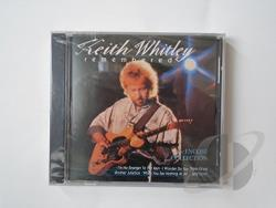 Whitley, Keith - Keith Whitley Remembered: The Encore Collection CD Cover Art