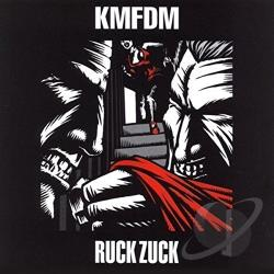 KMFDM - Ruck Zuck CD Cover Art