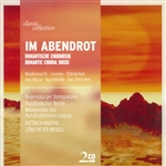 Im Abendrot-Romantische Chormu CD Cover Art