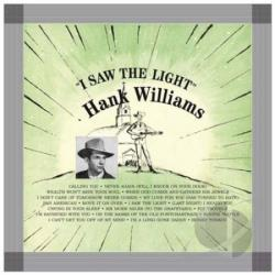 Williams, Hank - I Saw the Light LP Cover Art