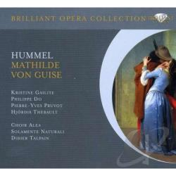 Hummel, Johann Nepom - Hummel:Mathilde CD Cover Art