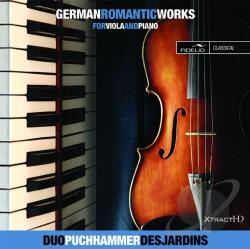 Kiel / Naumann: / Puchhammer-Sedillot / Schumann - German Romantic Works for Viola & Piano CD Cover Art