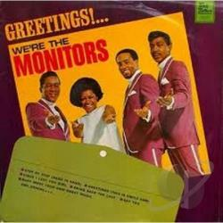 Monitors - Greetings! We're the Monitors CD Cover Art