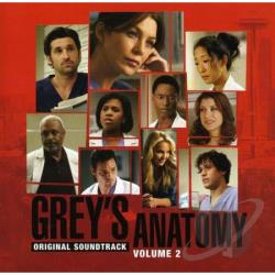Vol. 2 - Grey's Anatomy CD Cover Art