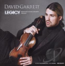 Garrett, David - Legacy CD Cover Art