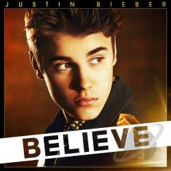 Bieber, Justin - Believe CD Cover Art