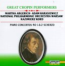 Various Artists - Cutout - Great Chopin Performers - Argerich, Harasiewicz CD Cover Art