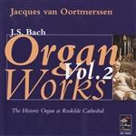 Van Oortmerssen: Organ - Bach: Organ Works CD Cover Art