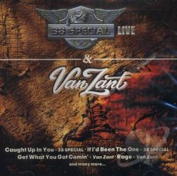 Live: The Very Best In Southern Rock CD Cover Art