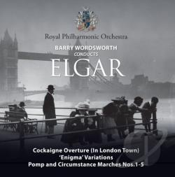 Elgar / Royal Philharmonic Orch / Wordsworth - Barry Wordsworth conducts Elgar CD Cover Art