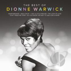 Warwick, Dionne - Best of Dionne Warwick CD Cover Art
