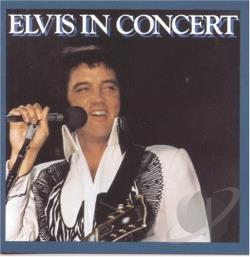 Presley, Elvis - Elvis in Concert CD Cover Art