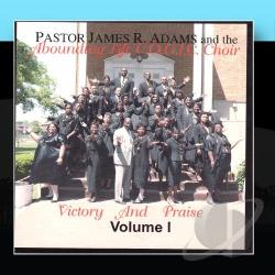 James R. Adams - Victory & Praise, Vol. 1 CD Cover Art
