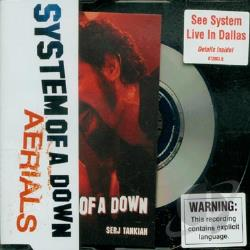 System Of A Down - Aerials CD Cover Art