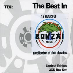 Best In 12 Years Of Bonzai CD Cover Art
