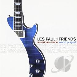 Paul, Les - American Made World Played CD Cover Art
