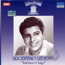Ledesma, Argentino - Bailemos el Tango CD Cover Art