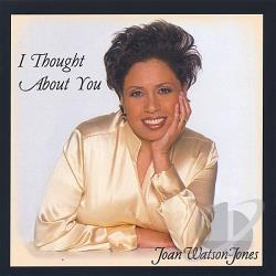 Watson-Jones, Joan - I Thought About You CD Cover Art