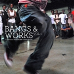 Bangs & Works, Vol. 1: A Chicago Footwork Compilation CD Cover Art