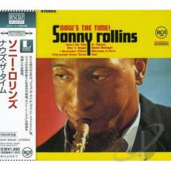 Rollins, Sonny - Now's the Time CD Cover Art
