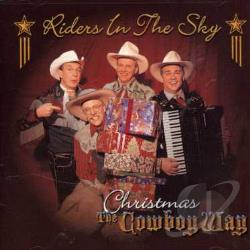 Riders In The Sky - Christmas the Cowboy Way CD Cover Art