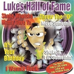 Luke's Hall of Fame CD Cover Art