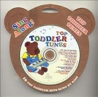 Sing Along: Top Toddler Tunes CD Cover Art