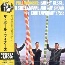 Brown / Kessel, Barney / Manne / Poll Winners - Poll Winners CD Cover Art