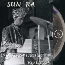 Sun Ra - Intergalactic Research, Vol. 2 CD Cover Art
