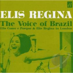 Regina, Elis - Voice of Brazil CD Cover Art
