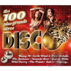 Les 100 Plus Grands Titres Disco CD Cover Art