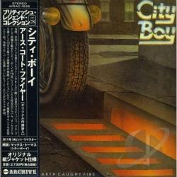 City Boy - Day the Earth Caught Fire CD Cover Art