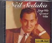 Sedaka, Neil - Sings His Greatest Hits CD Cover Art