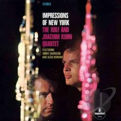Kuehn, Rolf & Joachim Quartett - Impressions Of New York CD Cover Art