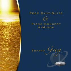 State Radio & TV Symphony Orchestra Moscow - Peer Gynt-Suite & Piano-Concert A-Minor Edvard Gri CD Cover Art