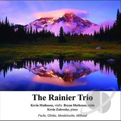 Matheson, Kevin & Matheson / Zakresky - Rainier Trio CD Cover Art