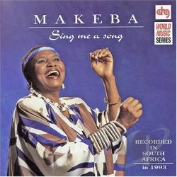 Makeba, Miriam - Sing Me a Song CD Cover Art