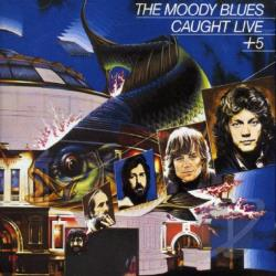 Moody Blues - Caught Live + 5 CD Cover Art