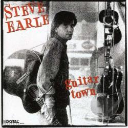 Earle, Steve - Guitar Town CD Cover Art