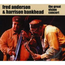 Anderson, Fred - Great Vision Concert CD Cover Art