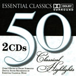 Series 50 Classical Highligh - 50 Classical Highlights - Essential Classics CD Cover Art