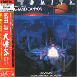 Tomita, Isao - Grand Canyon CD Cover Art