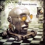 Gov't Mule - Life Before Insanity CD Cover Art