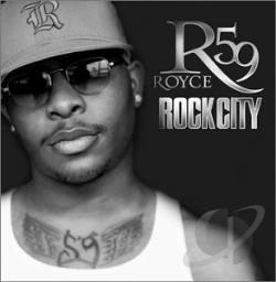Royce Da 59 - Rock City CD Cover Art