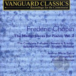 Chopin / Darre / Hungerford / Novaes - Chopin: The Masterpieces for Piano, Vol. 2 CD Cover Art